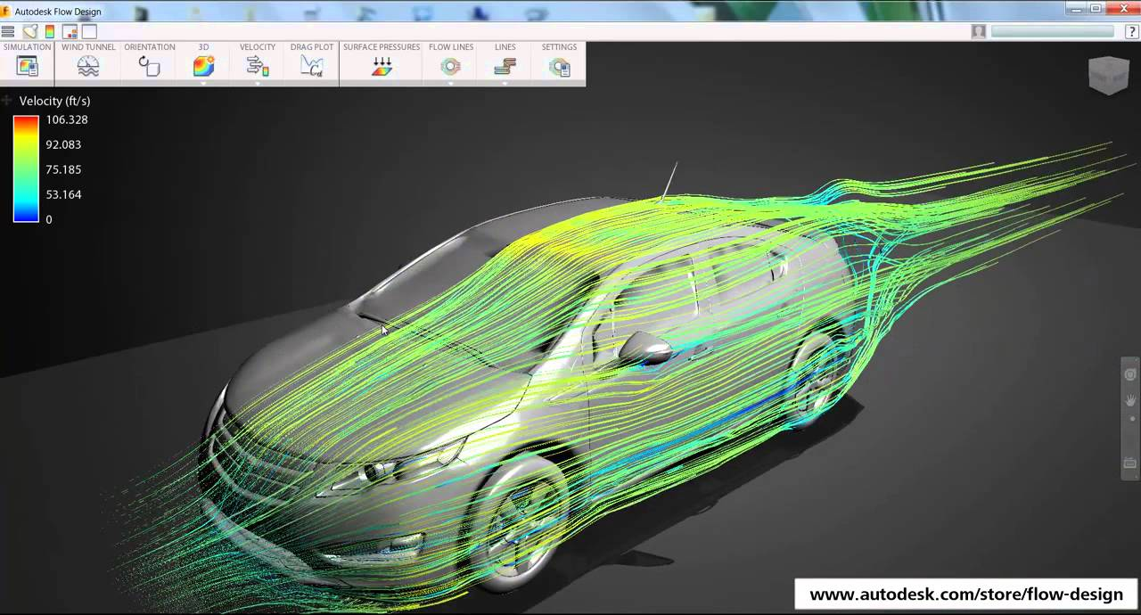 Virtual Wind Tunnel On Your Desktop - Autodesk Flow Design