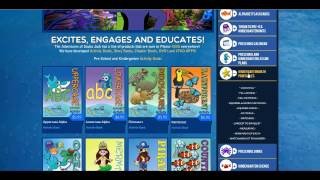 The Adventures of Scuba Jack - Best Preschool and Kindergarten worksheets, crafts and lesson plans! Thumbnail
