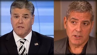 SEAN HANNITY DISCOVERS EASY WAY TO HUMILIATE GEORGE CLOONEY AND BEAT HOLLYWOOD AT OWN GAME