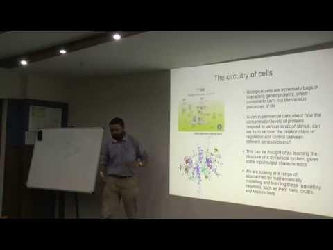 """Can Cells Think"" - Computational Biology Seminar at IIIT-Delhi"