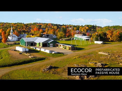 Architecture Spotlight #99 | Ecocor - Prefabricated Passive House | Searsmont, Maine