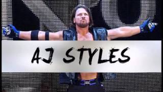 "2016: AJ Styles 1st & New WWE Theme Song - ""Phenomenal"