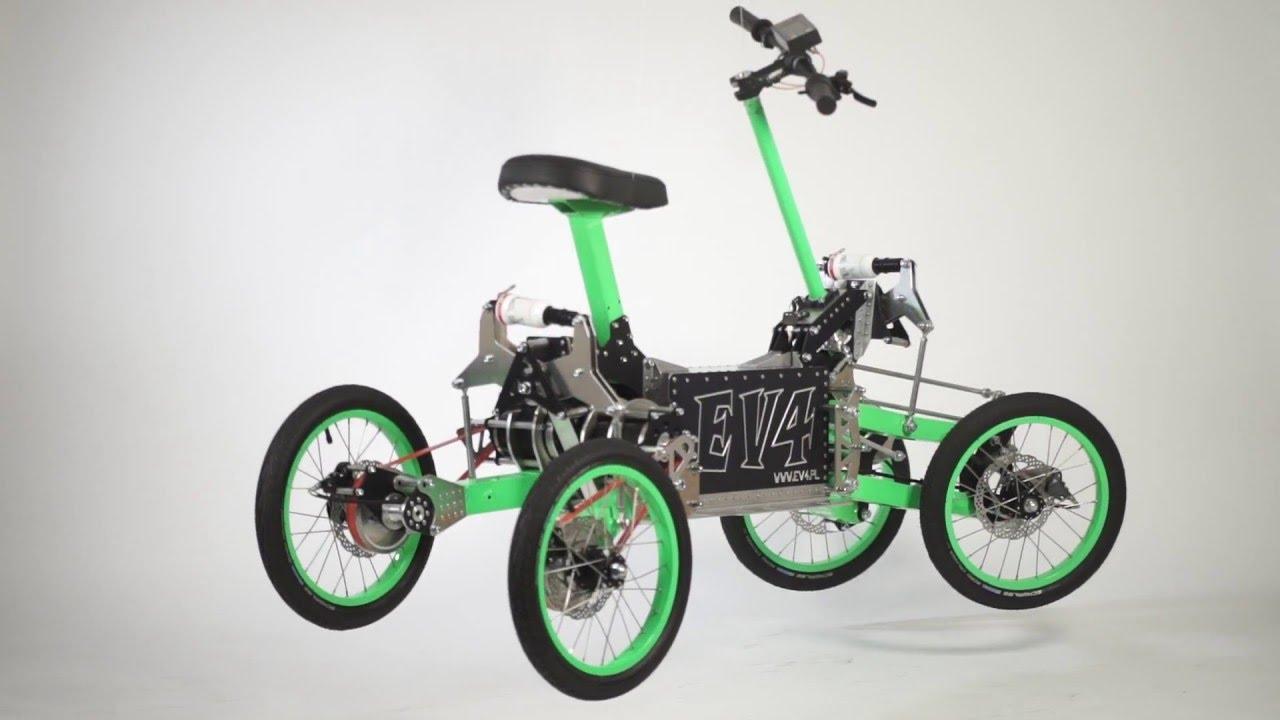 Ev4 Electric Tilting Quad Bike 2 Youtube