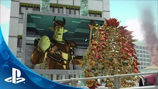 Knack Wrecking Machine Gameplay Trailer