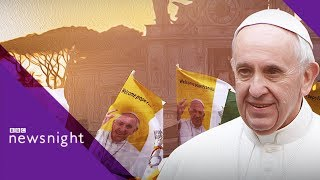Pope Ireland Visit: Is the country over Catholicism? - BBC Newsnight