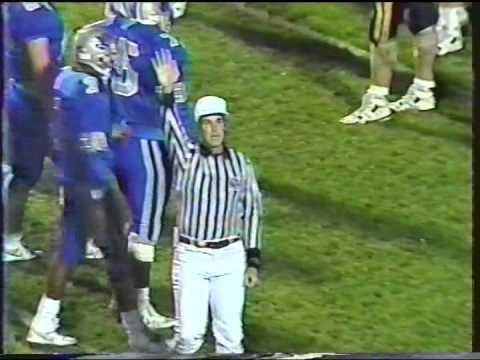 1989 Florida State Championship Dillard vs Merritt Island 4th quarter