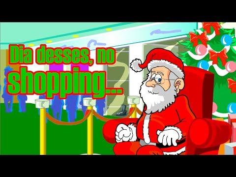 Vida de Papai Noel de shopping center não anda nada fácil!