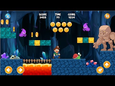 Mark's World Super Adventure | Game Similar To Super Mario For Android