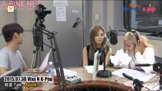[APINKSUBS][150730] SBS PowerFM VIXX N K-Pop - A Pink
