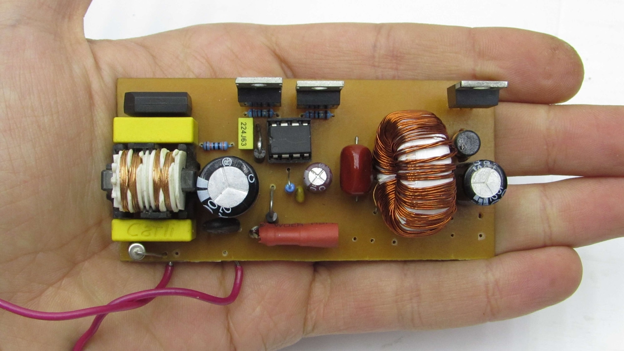 Simple switching mode power supply  YouTube