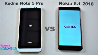 Nokia 6 2018 vs Redmi Note 5 Pro SpeedTest, Camera and Charging Compare