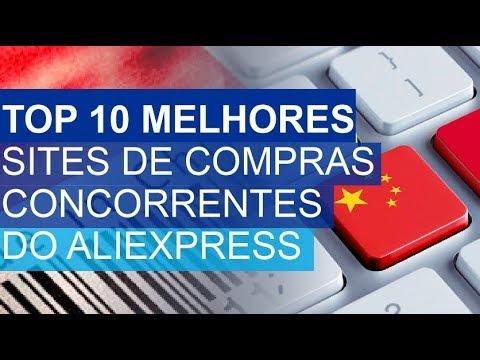 530649f4e TOP 10 Sites de compras chineses concorrentes do Aliexpress - YouTube