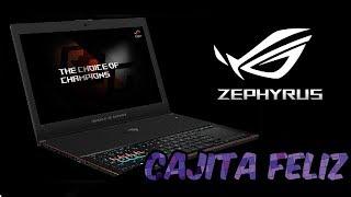 Unboxing ASUS ROG Zephyrus en español - Cajita Feliz