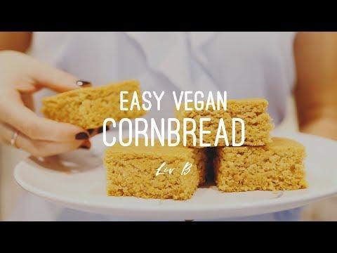 Easy Vegan Cornbread Recipe | + Gluten-free Option!