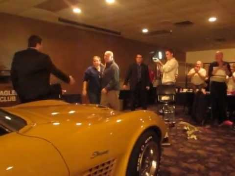 ND Family Business Surprises 40-Year Employee With 1972 Corvette