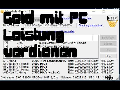 Geld Mit PC Leistung Verdienen