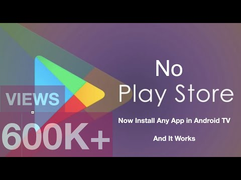 TCL SMART TV 49 app installation  Install any Android app, when no play store