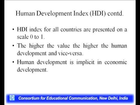 Economic Growth and Economic Development - Part 2 - YouTube