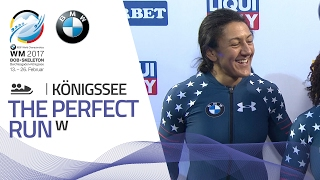 The Perfect Run | Women's Bobsleigh | BMW IBSF World Championships 2017