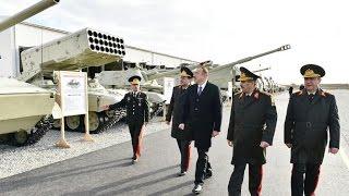 Президент Азербайджана открыл новый военный городок N-ской воинской части Минобороны