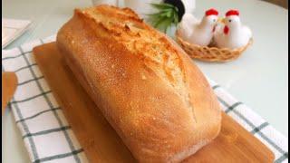 Домашний Хлеб c Хрустящей Корочкой и Пористым Мякишем Удобный Рецепт Хлеба The Homemade Bread