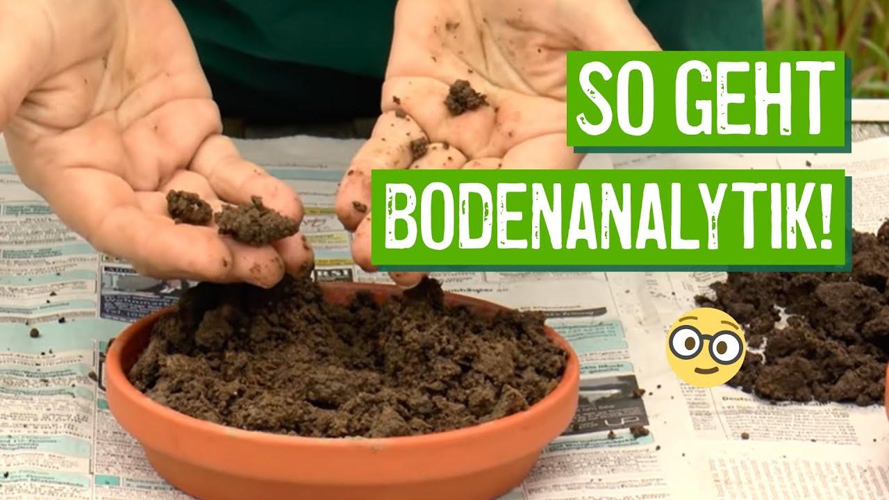 Einfache Bodenanalyse Der Grüne Tipp Youtube