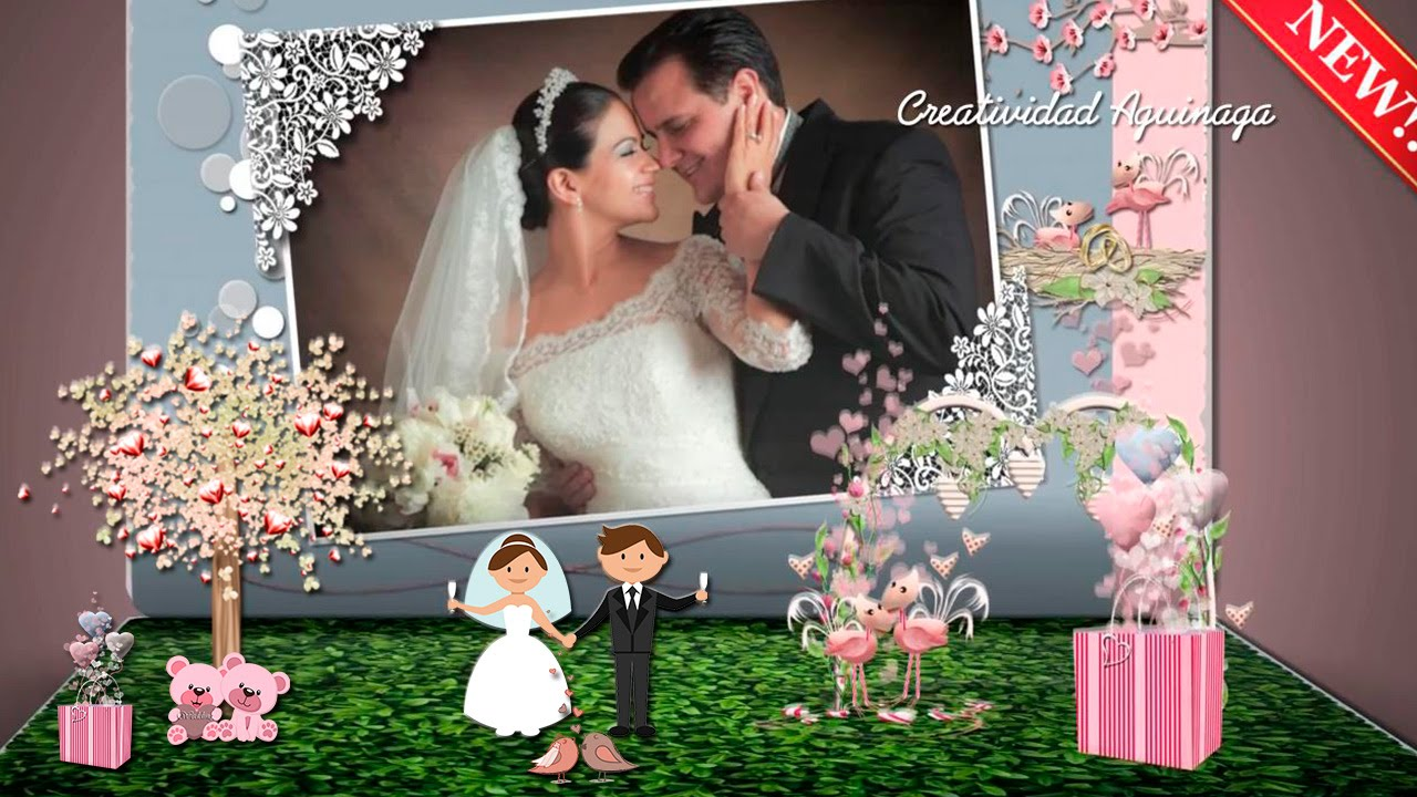 Wedding Book Template Proshow Producer Creatividad Aguinaga