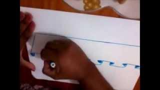 Como desenhar barrado falso