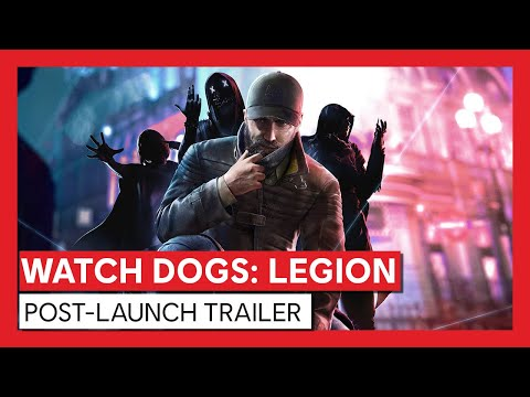 Watch Dogs: Legion - Post-Launch & Season Pass Trailer | Ubisoft [DE]