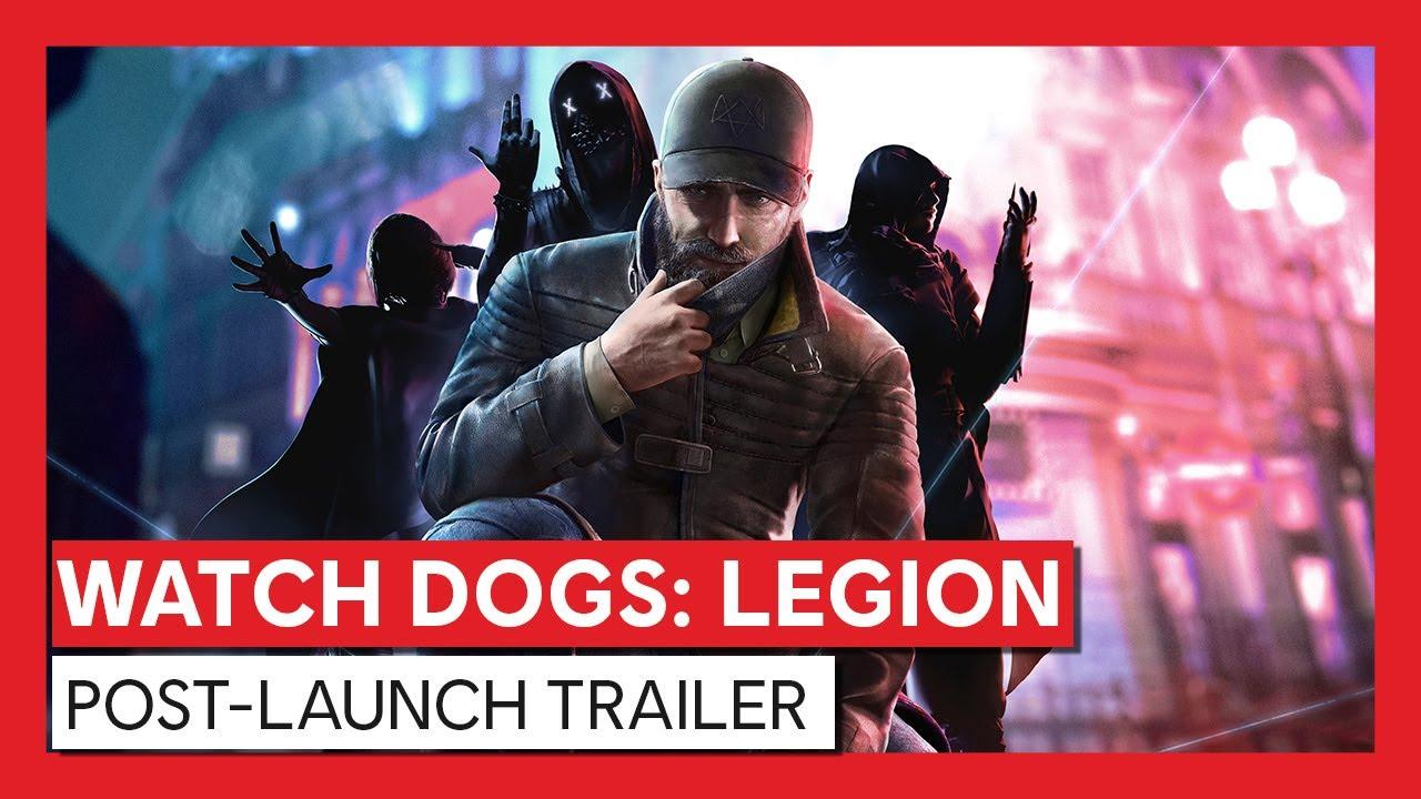Watch Dogs: Legion - Post-Launch & Season Pass Trailer   Ubisoft