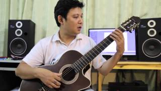 Tư thế ngồi chơi đàn guitar