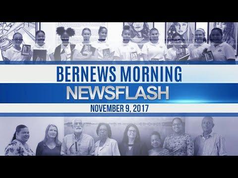 Bernews Morning Newsflash For Thursday November 9, 2017