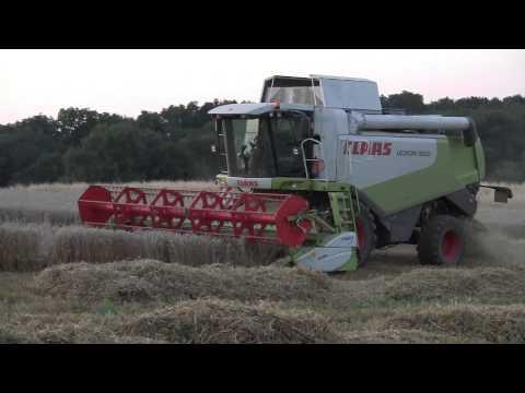 Moissonneuse Batteuse claas lexion 550 & Récolte Blé 2012 - Franche-Comté -