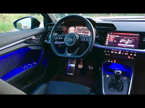 New Audi A3 (2020) - Crazy AMBIENT LIGHTS demonstration (S Line interior)