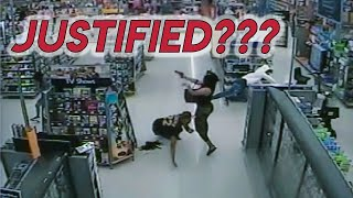 Justified? Concealed Carrier Shoots Attackers in Walmart