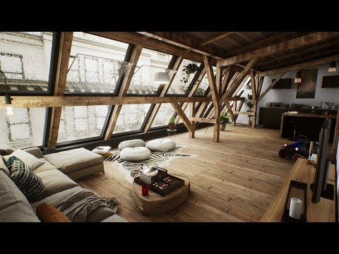 Architecture Real-time Interative - Unreal Engine 4 (Archviz)