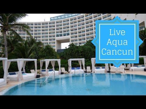 Live Aqua Cancun Video Tour