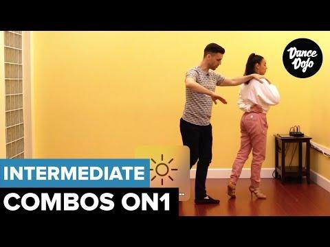 Inside Job - Intermediate Salsa Turn Patterns On1   TheDanceDojo.com