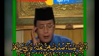 H.Muammar ZA Surah An Nisaa Ayat 1-4,19-22 & 23-28 Mp3