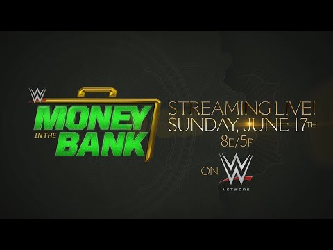 WWE Money in the Bank 2018  June 17 on WWE Network