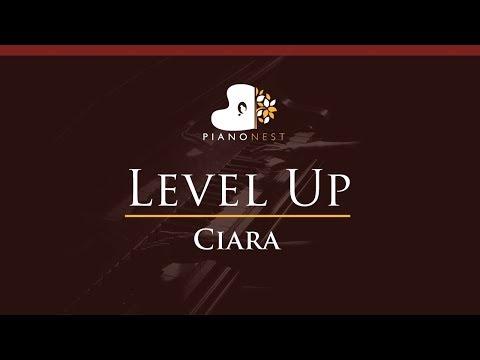 Ciara - Level Up - HIGHER Key (Piano Karaoke / Sing Along)