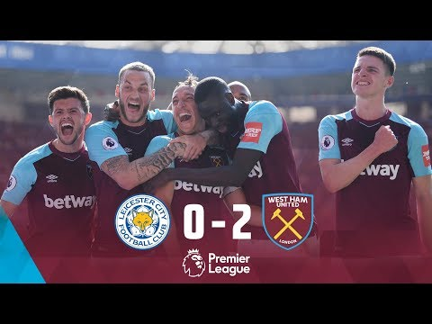 HIGHLIGHTS: LEICESTER CITY 0-2 WEST HAM UNITED