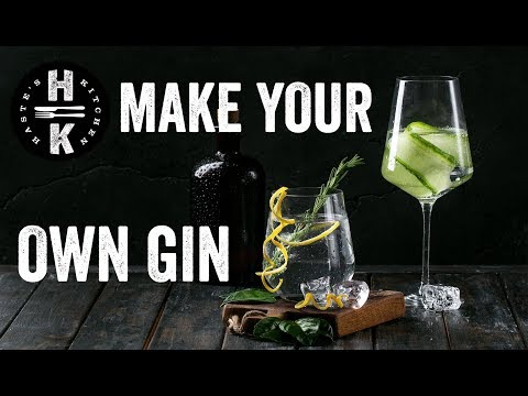 Make your own Gin in 20 mins! #Ad