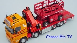 Cranes Etc TV: Tekno Scania R620 Kranringen Mammoet Review