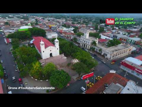 Parque De Usulutan El Salvador En 4k