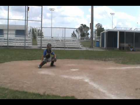 James Hood Longview Catching Workout.wmv