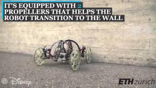 disney s vertigo robot climbs up walls with such ease youtube