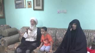 كلمه الشيخ الجدحفصي - زيارة الشهيد سيدعدنان 6-9-2012