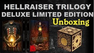 | Unboxing | Hellraiser Trilogy Deluxe Box | Limited Edition | Blu-Ray | Amazing Movie Collection