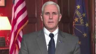 "Governor Pence Tells General Assembly ""Job Well Done"""